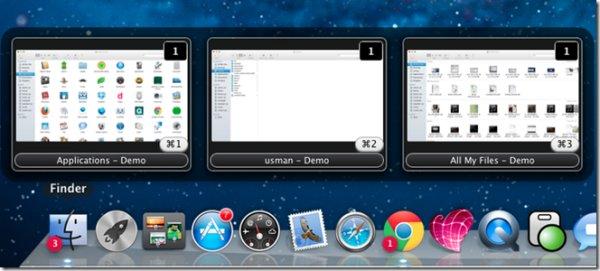 Mang chút hương vị Windows 7 lên Mac OS