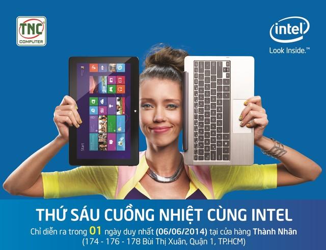"""Mua USB chỉ với 6,000 đồng? Chỉ có tại """"Thứ 6 cuồng nhiệt cùng Intel""""!"""