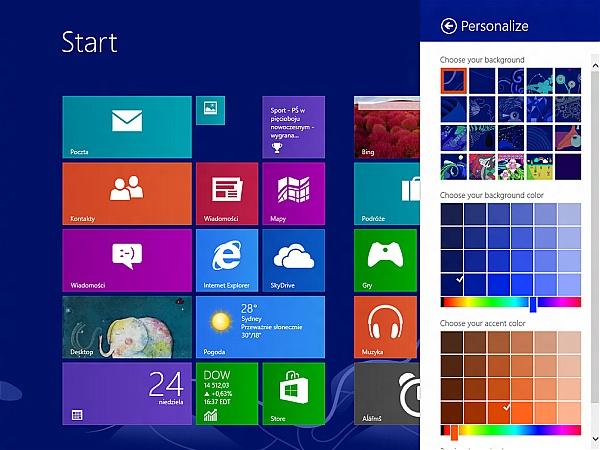 Bản Build Windows Blue đã xuất hiện, cho phép tải về