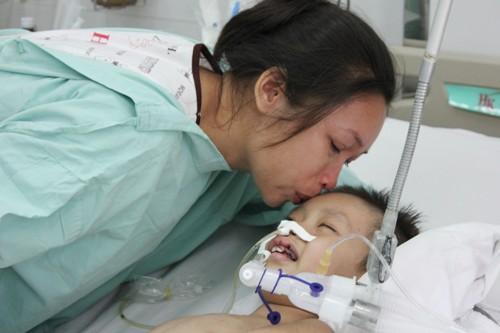 Bé trai nguy kịch vì viêm não Nhật Bản