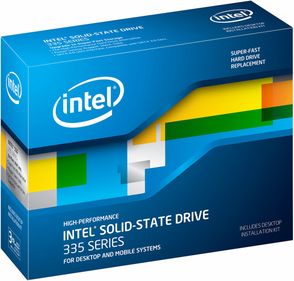 Intel công bố ổ SSD 335 Series phiên bản 80 GB