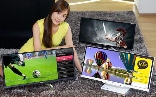 LG giới thiệu máy tính AiO và màn hình tích hợp bộ thu TV tỉ lệ 21:9