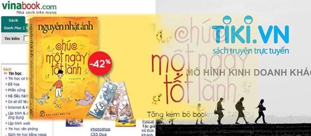 Thị trường sách online: Vinabook vào cuộc chiến giành thị phần khốc liệt với Tiki
