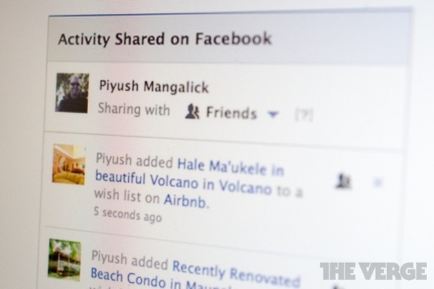 """Facebook giúp người dùng giữ """"bí mật"""" khi sử dụng ứng dụng Open Graph"""