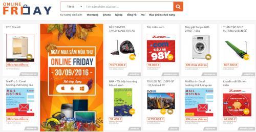 300 doanh nghiệp sẽ tham gia Ngày mua sắm Online Friday