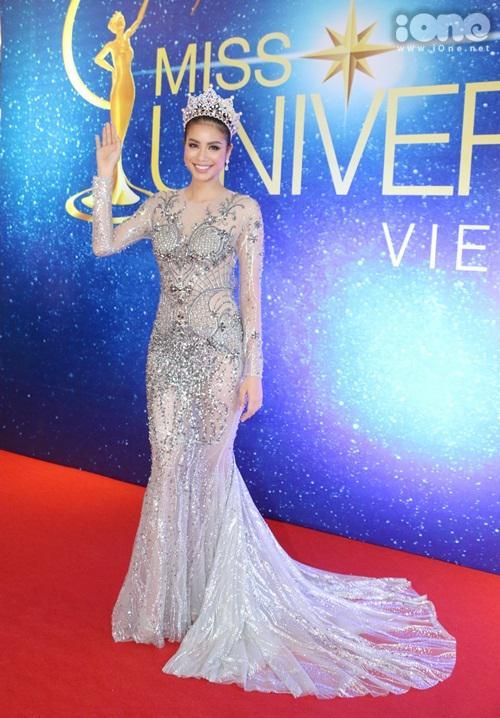 Dàn mỹ nhân Việt đọ sắc tại họp báo Hoa hậu Hoàn vũ Việt Nam 2017