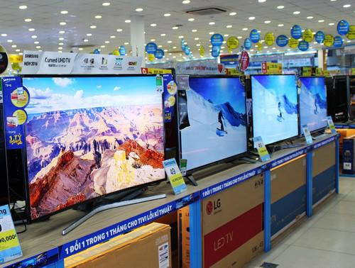 TV tầm 9 – 10 triệu đồng bán chạy dịp cận Tết