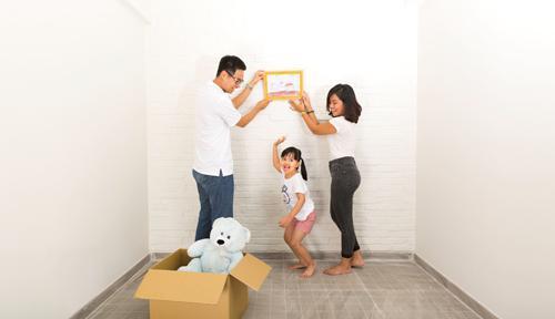 Nhiều gia đình lo sửa nhà đón Tết dù chưa đủ tiền